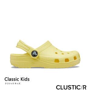 ・クロックス《キッズ》クラシック クロッグ/バナナ/ CROCS/K Classic Clog/Banana #