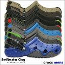 crocs【クロックス】Swiftwater Clog M / スウィフトウォーター クロッグ メンズ ※※ アウトドア キャンプ フェス 釣り 街歩き メンズ サンダル