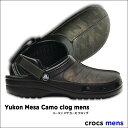 crocs【クロックス】Yukon Mesa Camo clog mens /ユーコン メサ カモ クロッグ ※※ メンズ レディース サンダル 迷彩柄 リアル...