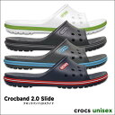 crocs【クロックス】Crocband 2.0 Slide / クロックバンド 2.0 スライド※※ メンズ レディース サンダル スポーツサンダル オフィス...
