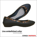 crocs【クロックス】Lina embellished collar/ リナ エンベリッシュド カラー ※※