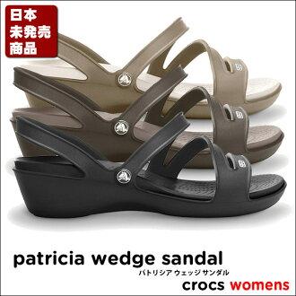 Crocs Patricia Wedge Sandal/패트리 샤 웨지 샌들 * * 여성용 샌들