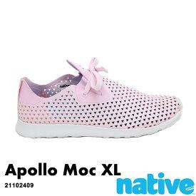 ・ネイティブ《ユニセックス》/ NATIVE/Apollo Moc XL/ アポロ モック XL/ ミルクピンク×シェルホワイト|