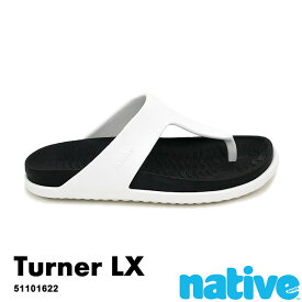 ・ネイティブ《ユニセックス》/ NATIVE/Tuener LX/ ターナー ラックス/ シェルホワイト×ジェフィブラック|