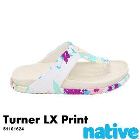 ・ネイティブ《ユニセックス》/ NATIVE/Tuener LX Print/ ターナー ラックス プリント/ シェルホワイト×ブーケットプリント|