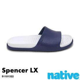 ・ネイティブ《ユニセックス》/ NATIVE/Spencer Lx/ スペンサー ラックス/ レガッタブルー×シェルホワイト|