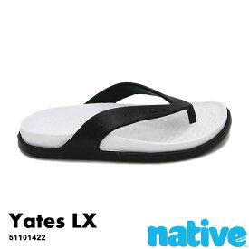 ・ネイティブ《ユニセックス》/ NATIVE/Yates Lx/ イェーツ ラックス/ ジェフィブラック×シェルホワイト|