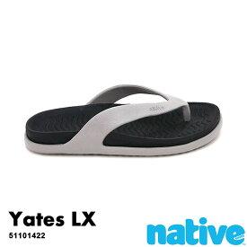 ・ネイティブ《ユニセックス》/ NATIVE/Yates Lx/ イェーツ ラックス/ ピジョングレー×ジェフィブラック|