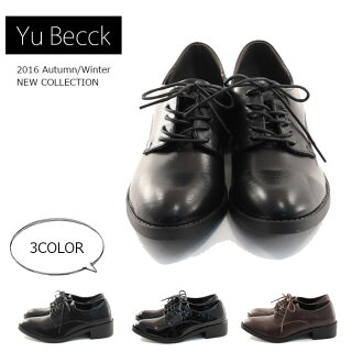【Yu-Becckユービック】【カジュアルシューズ】メンズライクレースアップシューズ痛くない履きやすい44-5385