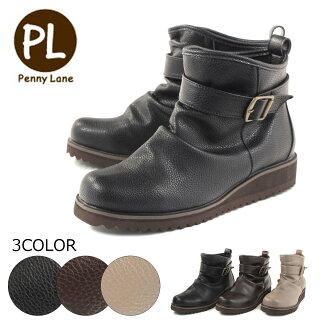 【PennyLaneペニーレイン】【ブーツ】レディースシューズソフト素材ふわふわインソールpl3140