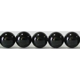 ブラックトルマリン 丸玉 8mm B  ※ 天然石 天然石ビーズ パワーストーン 1粒売り バラ売り 1玉販売 【クーポン対象】【39ショップ】