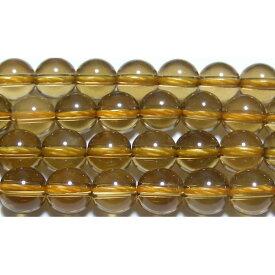 【クーポン対象】 天然シトリン 丸玉 8mm AA  ※ 天然石 天然石ビーズ パワーストーン 1粒売り バラ売り 1玉販売