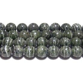 【クーポン対象】 ゼブラジャスパー 丸玉 8mm B  ※ 天然石 天然石ビーズ パワーストーン 1粒売り バラ売り 1玉販売
