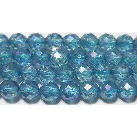 【クーポン対象】 アクアオーラ ミラーボール 6mm A  ※ 天然石 天然石ビーズ パワーストーン 1粒売り バラ売り 1玉販売