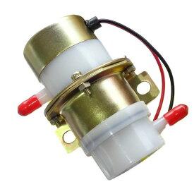 cmy select 12V 燃料ポンプ 汎用 フューエルポンプ 電磁 小型 ガソリン 軽油 ([白(12V))])