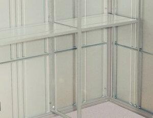 【タクボ物置】 クリーンキーパー用 オプション 背面1段別売棚(間口2200mm用)