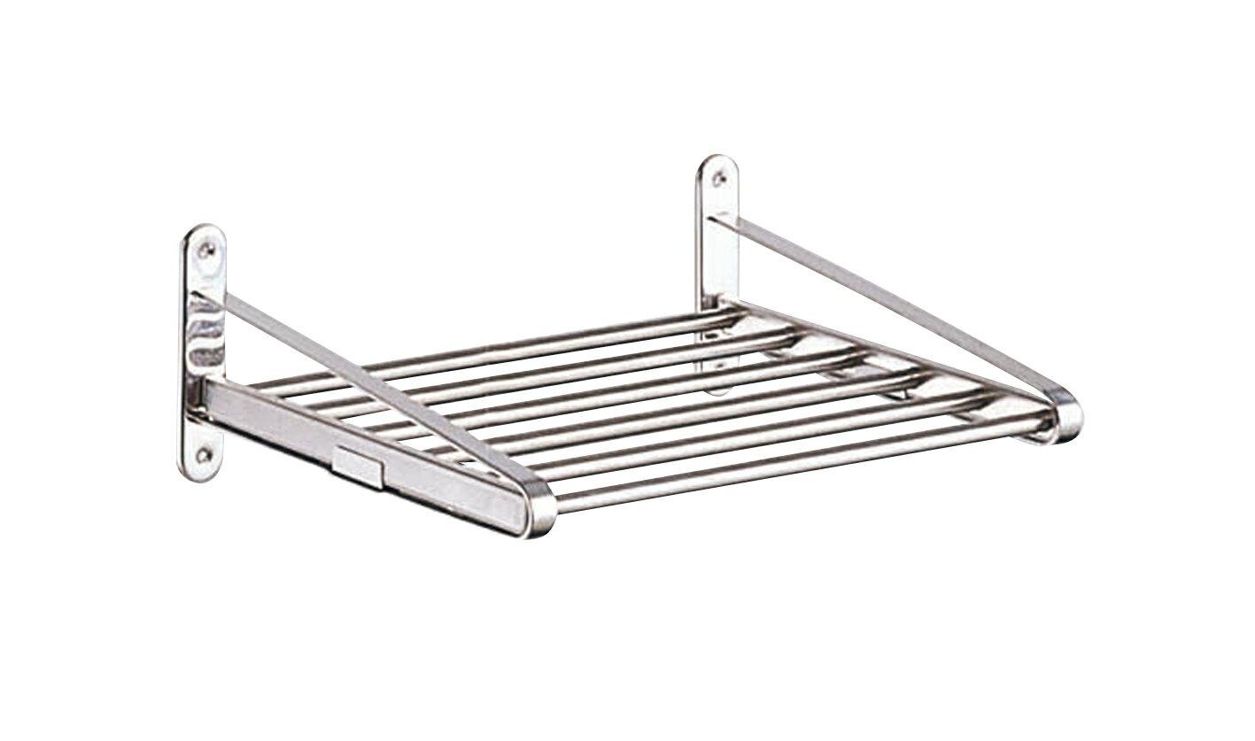 【タクボ】 キッチン水切パイプ棚1段オーダーサイズ(幅46cm〜59cm)