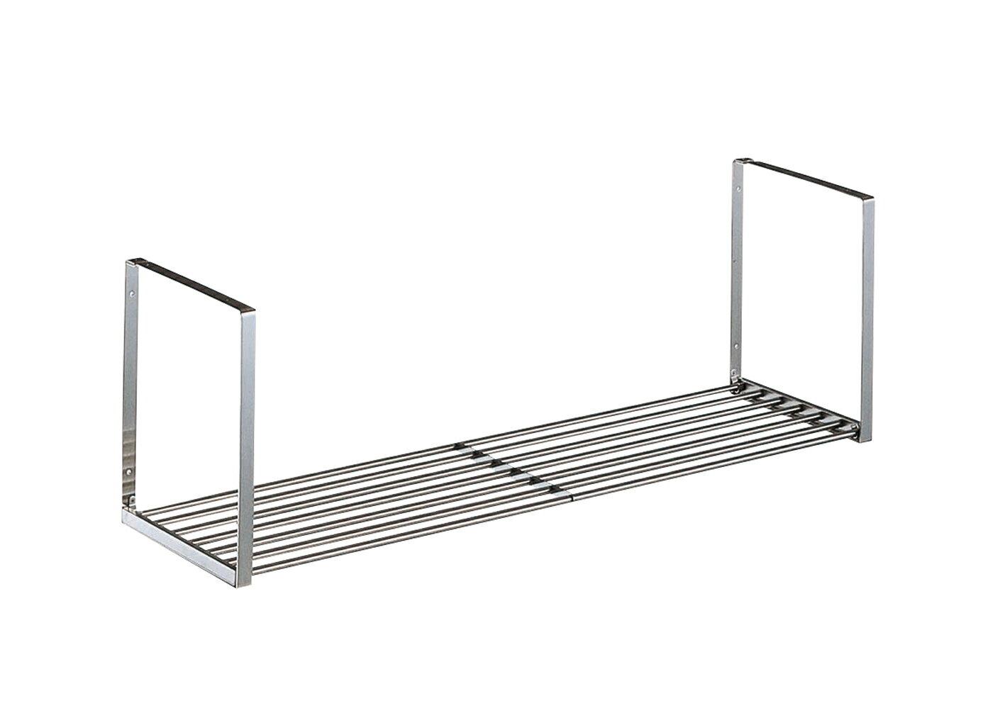 【タクボ】 キッチン水切パイプ棚1段オーダーサイズ(幅61cm〜89cm)