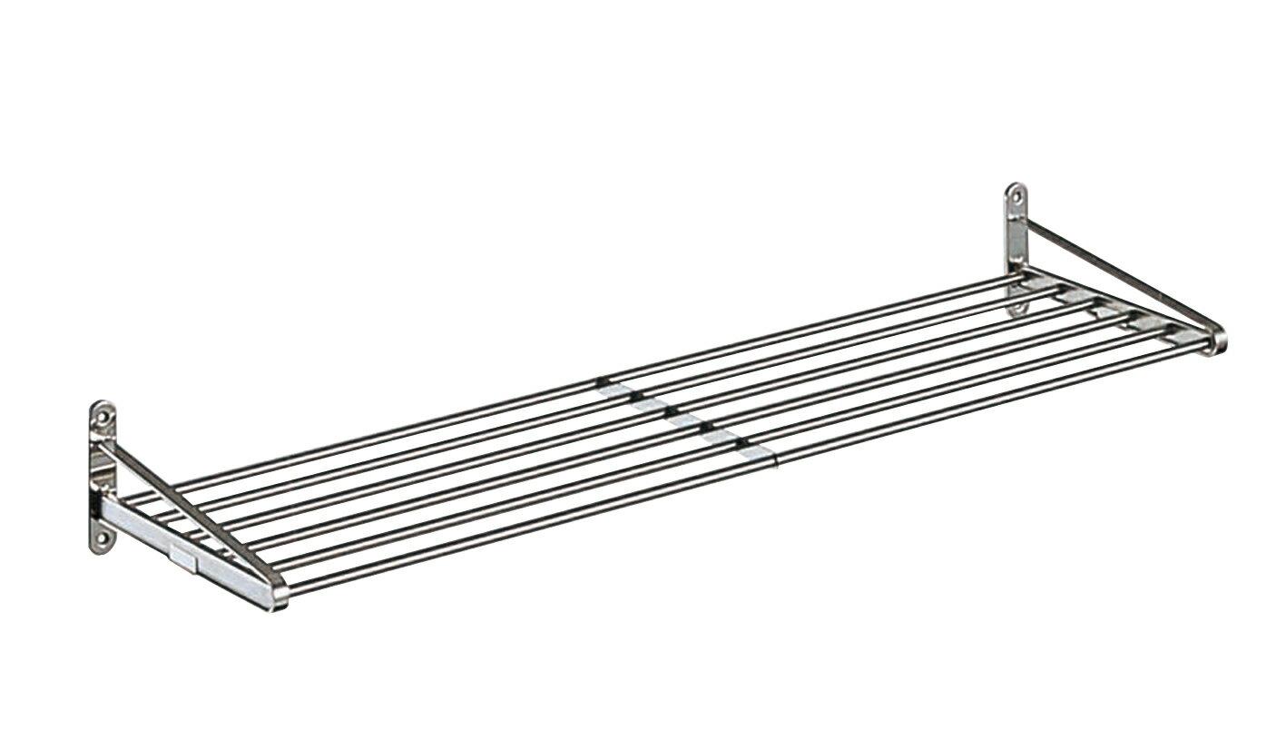 【タクボ】 キッチン水切パイプ棚1段オーダーサイズ(幅91cm〜119cm)
