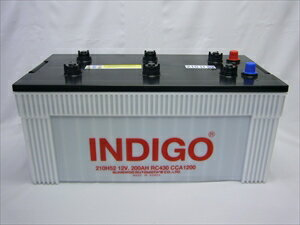 インディゴバッテリー 大型車用 210H52  210H52 モーターグレーダー