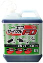 新日本樹脂工業 2サイクル混合用 2サイクルオイル キューミック エコサイクルFD 4L 青 6本