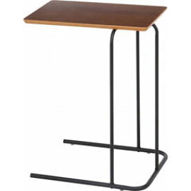 <欠品 未定>☆不二貿易 突板サイドテーブル FBC12519