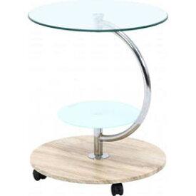 ☆不二貿易 ガラスラウンドテーブル マーブル NA FBC96229