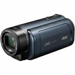☆JVCケンウッド 4Kメモリービデオカメラ 「Everio(エブリオ) Rシリーズ」 ディープオーシャンブルー GZ-RY980-A