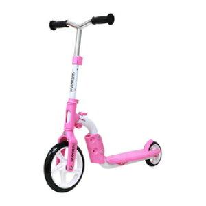 ☆マイパラス バイクキックボード ピンク MY-2in1-P