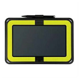 ☆KING JIM 電子メモパッド 「ブギーボード」 横型モデル 黄緑 BB-10YG
