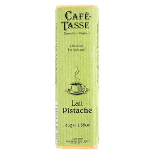 ◎【代引不可】CAFE-TASSE(カフェタッセ) ピスタチオミルクチョコ 45g×15個セット「他の商品と同梱不可/北海道、沖縄、離島別途送料」