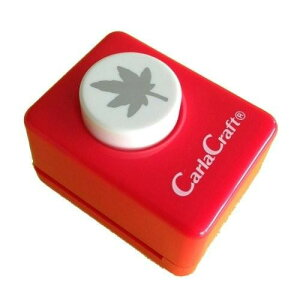 Carla Craft(カーラクラフト) クラフトパンチ(小) モミジ CP-1 4100679「他の商品と同梱不可/北海道、沖縄、離島別途送料」