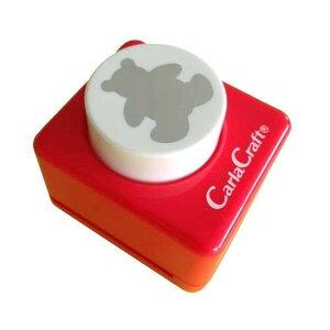 Carla Craft(カーラクラフト) クラフトパンチ(大) クマ CP-2 4100650「他の商品と同梱不可/北海道、沖縄、離島別途送料」
