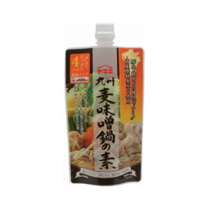 ◎【代引不可】ヤマエ 九州麦味噌鍋の素 300g×12個「他の商品と同梱不可/北海道、沖縄、離島別途送料」