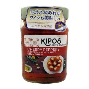 【代引不可】キポス チェリーペッパー クリームチーズ入り 230g×6個「他の商品と同梱不可/北海道、沖縄、離島別途送料」