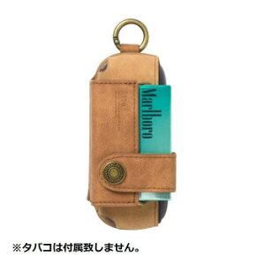 Style Natural アイコス3専用ケース iQ3-SMEVS04 キャメル「他の商品と同梱不可/北海道、沖縄、離島別途送料」
