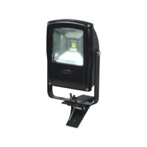 LEN-F10C-BK LEDフラットライト 10W クリップ式 マグネット付き 黒 13003「他の商品と同梱不可/北海道、沖縄、離島別途送料」