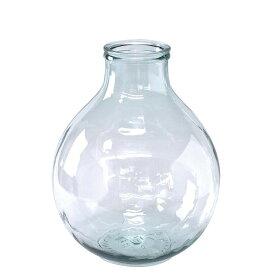 SPICE VALENCIA リサイクルガラスフラワーベース TRES クリア VGGN1030「他の商品と同梱不可/北海道、沖縄、離島別途送料」