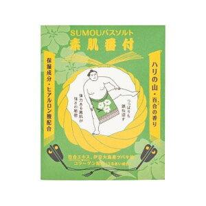 【代引不可】SUMOUバスソルト 素肌番付  ハリの山 12個入り「他の商品と同梱不可/北海道、沖縄、離島別途送料」