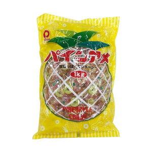 【代引不可】パインアメ 1kg×10袋 D-33「他の商品と同梱不可/北海道、沖縄、離島別途送料」
