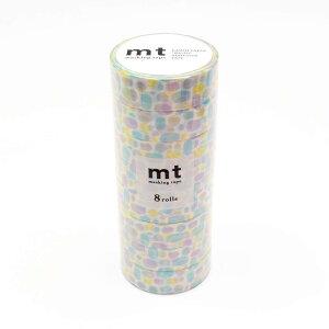 mt マスキングテープ 8P プール・ブルー MT08D283「他の商品と同梱不可/北海道、沖縄、離島別途送料」
