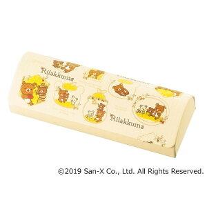 メガネケース リラックマ はちみつの森-2 クリーム「他の商品と同梱不可/北海道、沖縄、離島別途送料」