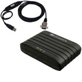 ☆ラトックシステム RS-232C 56K DATA/14.4K FAX Modem (USB変換ケーブル付)3年保証モデル REX-C56EX-UW3