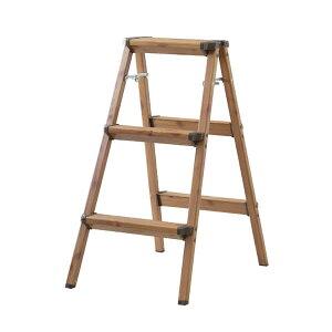 【3段】ステップスツール【折りたたみ式】/ステップ 台 ステップチェア ステップチェアー 踏み台 椅子 イス いす チェア チェアー 折り畳み おりたたみ 折りたたみ 折りたたみ式家具 イン