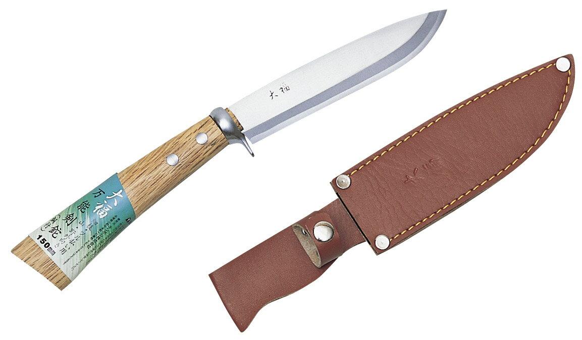 キンボシ 大福 万能剣鉈 (磨)鋼付 150mm 1623