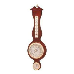 温湿度計 高精度 エンペックス 気圧計 木目 記念品 インテリア 英国 イギリス アナログ 日本製 壁掛け トラディション気象計 BM-715