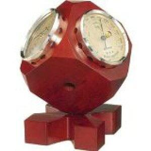 温湿度計 高精度 エンペックス 気圧計 木目 記念品 インテリア アナログ 日本製 置き型 トリオ気象計 BM-633