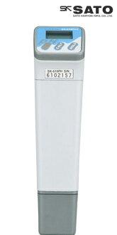 佐藤计量器/SATO peha测量仪器pH计pH测量仪器水质测量仪器泥土测量仪器防水自动温度补正笔型pH计SK-610PH II