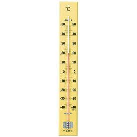 佐藤計量器/SATO 大型木製寒暖計 SK式60型