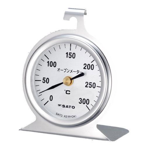 佐藤計量器/SATO オーブン 温度計 オーブンメータ(オーブン用温度計) 1726-20